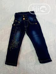 Girls Fashion Denim/Jeans (Blue) | Children's Clothing for sale in Lagos State, Victoria Island