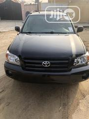 Toyota Highlander 2007 4x4 Black   Cars for sale in Lagos State, Ajah