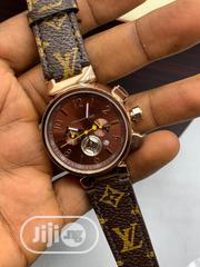 Designer Louise Vuitton Leather Wrist Watch For Ladies | Watches for sale in Lagos State, Lagos Island