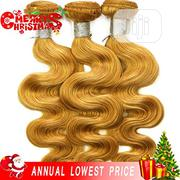 Honey Blonde Body Wave Weavon 16-22inch (4 Bundles) | Hair Beauty for sale in Lagos State, Amuwo-Odofin