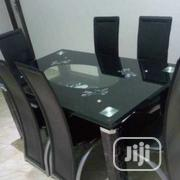 Mild Glass Dining Table Set   Furniture for sale in Lagos State, Ikorodu