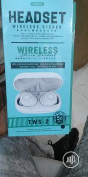 Remax Wireless Headset Tws 2 | Headphones for sale in Lagos State, Ikeja