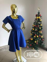 Blue Flared Dress | Clothing for sale in Rivers State, Port-Harcourt