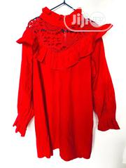 Longsleeves Girls Top-All Red | Children's Clothing for sale in Lagos State, Amuwo-Odofin