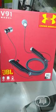 Jbl V91 Model With Built In Mic | Headphones for sale in Lagos State, Ikeja