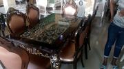 Royal Dining Table With Six Chairs | Furniture for sale in Lagos State, Victoria Island