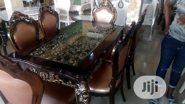 Royal Dining Table With Six Chairs