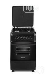 Midea Cooker 3 Gas + 1E Grill Oven Black-50*55 | Restaurant & Catering Equipment for sale in Abuja (FCT) State, Central Business District
