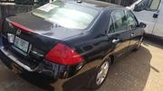 Honda Accord 2007 Sedan EX-L Black | Cars for sale in Lagos State, Ikeja