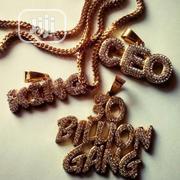 30 Billion Gang ,Ceo. King Gold Pendant and Necklace | Jewelry for sale in Lagos State, Surulere