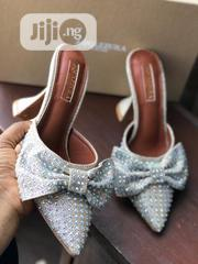 New Female Classic Stone Designer Heel Shoes | Shoes for sale in Lagos State, Ikeja