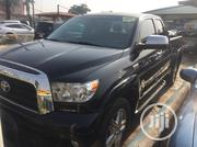 Toyota Tundra 2010 Double Cab 4x4 Limited Black | Cars for sale in Lagos State, Ikeja