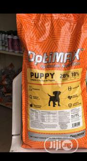 Optimax Dog Food Puppy Adult Dogs Cruchy Dry Food Top Quality | Pet's Accessories for sale in Lagos State, Ifako-Ijaiye