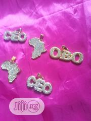 Stunded Pendant With Shinning Stones   Jewelry for sale in Lagos State, Ojo