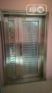 Stainless Steel Glass Antitrust Door 4ft | Doors for sale in Lagos State