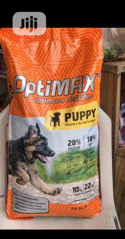 Optimax Dog Food Puppy Adult Dogs Cruchy Dry Food Top Quality | Pet's Accessories for sale in Lagos State, Ikorodu