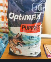 Optimax Dog Food Puppy Adult Dogs Cruchy Dry Food Top Quality | Pet's Accessories for sale in Lagos State, Ilupeju