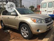 Toyota RAV4 2007 V6 4x4 Gold | Cars for sale in Lagos State, Isolo