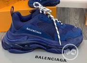 Balenciaga Triple S Clear Sole Sneakers (Blue) | Shoes for sale in Lagos State, Lagos Island
