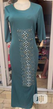 Green Long Gown | Clothing for sale in Rivers State, Obio-Akpor
