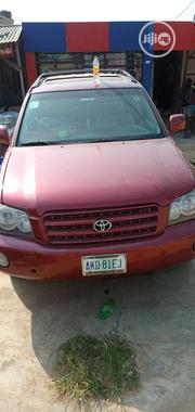 Toyota Highlander 2003 Red | Cars for sale in Lagos State, Alimosho