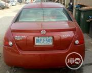 Nissan Maxima 2004 Red   Cars for sale in Lagos State, Lagos Mainland
