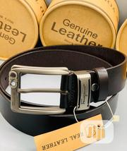 Ferragamo Leather Belt for Men's   Clothing Accessories for sale in Lagos State, Lagos Mainland