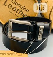 Boss Leather Belt for Men's | Clothing Accessories for sale in Lagos State, Lagos Mainland