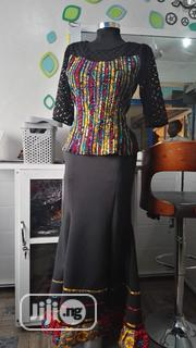Ankara Mix Skirt And Blouse | Clothing for sale in Abuja (FCT) State, Galadimawa