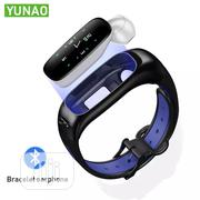 S1 2 In 1 Smart Bracelet Bluetooth Headset Sport Fitness Tracker | Smart Watches & Trackers for sale in Lagos State, Ikeja