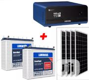 1.5kva 24v Solar Powered Inverter Installation With Luminous Batteries | Building & Trades Services for sale in Lagos State, Lekki Phase 2