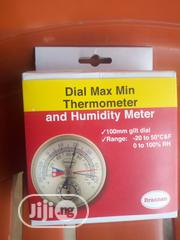 Dial Thermometer And Humidity Meter   Measuring & Layout Tools for sale in Rivers State, Port-Harcourt