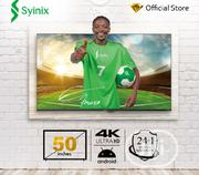 Syinix Android 4K UHD Smart LED TV Black 50inchs | TV & DVD Equipment for sale in Abuja (FCT) State, Gwarinpa