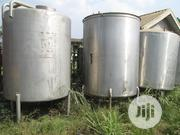 10000 Ltrs - Foreign Steel Mixing Tanks With Electric Motor | Manufacturing Equipment for sale in Abuja (FCT) State, Gudu