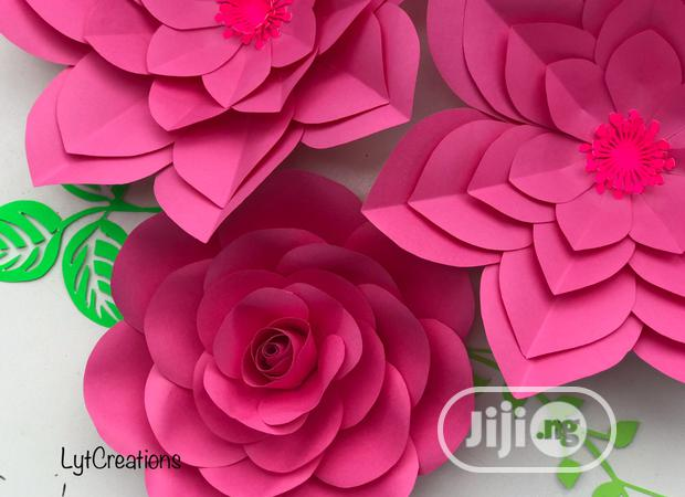 Archive: Paper Flower Training