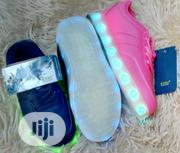 Unisex Light Shoes, ABUJA, Size 31 - 34, Pink and Navy Blue Only | Children's Shoes for sale in Abuja (FCT) State, Kubwa