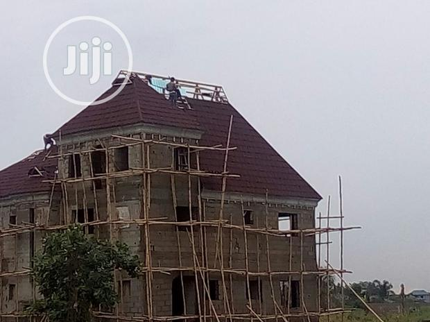 Milano Red Wine Stone Coated Roofing Sheet