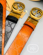 Gucci Leather Belt for Men's | Clothing Accessories for sale in Lagos State, Lagos Mainland