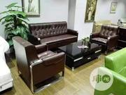 Executive Leather Sofa | Furniture for sale in Lagos State, Lekki Phase 1
