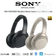 Sony WH-1000XM3 Wireless Headphones 30hrs Battery | Headphones for sale in Lagos State, Ikeja