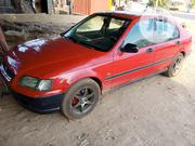 Honda Civic 1997 EX 4dr Sedan Red | Cars for sale in Niger State, Chanchaga