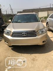 Toyota Highlander Limited 2008 Beige | Cars for sale in Lagos State, Ikeja