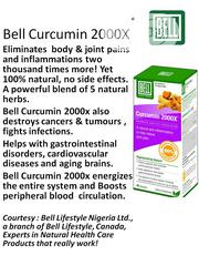 BELL CUCUMIN . Tumeric With Cayenne Pepper, Hawthorn and Vitamin E | Vitamins & Supplements for sale in Lagos State, Ikeja
