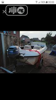 Neat Fletcher Arrow Boat For Sale 15hp 4stroke   Watercraft & Boats for sale in Lagos State, Amuwo-Odofin
