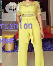 New Trendy Jumpsuit With Belt | Clothing Accessories for sale in Lagos State, Ikeja