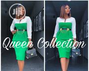 Queen Fitted Office Wear With Belt | Clothing Accessories for sale in Lagos State, Ikeja
