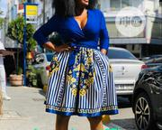 Amy Long Short Cleavage Dress   Clothing for sale in Lagos State, Ikeja