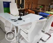 White Office Table 1.6 Meter | Furniture for sale in Lagos State, Ojo