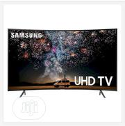 Samsung 55 Inch 2019 Curved 4K RU7300 Ultra Slim Smart TV | TV & DVD Equipment for sale in Ondo State, Okitipupa