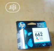 HP 662 Tri-Colour Ink Cartridge | Accessories & Supplies for Electronics for sale in Lagos State, Ikoyi